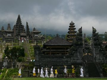 Hinduistický chrám Pura Besakih, Bali