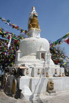 Stúpa - údolí Káthmándú