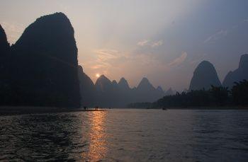 Plavba po řece Li