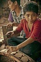 Kambodžský chlapec