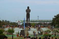 Manila – pomník náčelníka Lapu Lapu