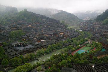 Xijiang - vesnice