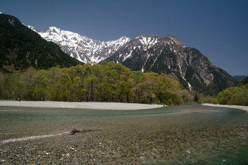 Údolí Kamikóči v Japonských Alpách