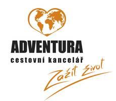 Logo Adventura Zažít život