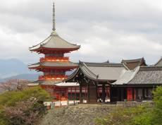 Chrám Kijomizu v Kjótu