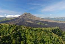 Sopka Batur na ostrově Bali