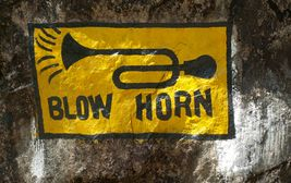 Dopravní značení v horách