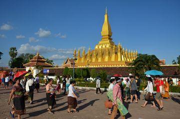 Vientiane - stúpa Pha That Luang
