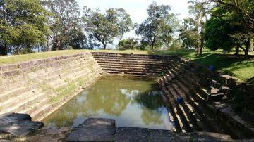 Vodní nádrž v areálu Preah Vihear