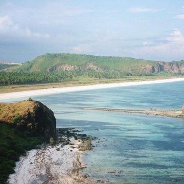 Pláže na ostrově Lombok