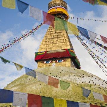 Chrám Svajambunáth v Káthmándú