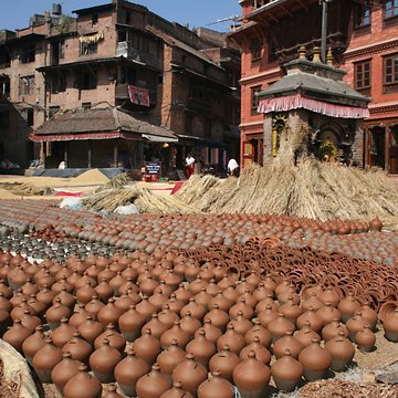 Náměstí hrnčířů, Bhaktapur