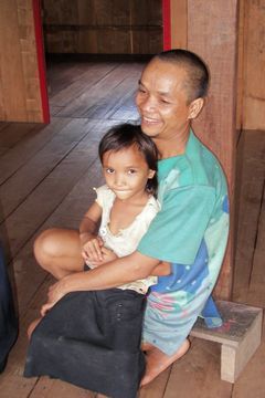 Pohoda v kambodžské rodině