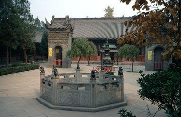 Xi'an – klášter Osmi nesmrtelných
