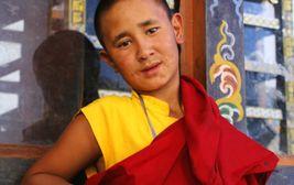 Mladý mnich