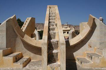 Džajpur - astronomická observatoř Džantar Mantar