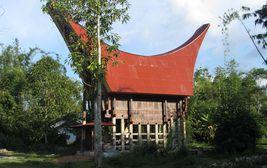 Toradžský obřadní dům,Sulawesi