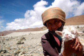 Úsměv Tibeťanky