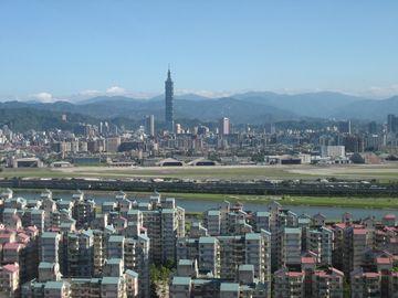 Taipei s věží Taipei 101