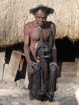 Ve vesnici Kurulu s mumií předka