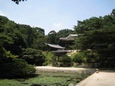 Tajná zahrada - palác Čchangdokkung