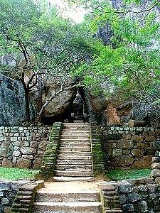 Sígirija - dolní zahrady