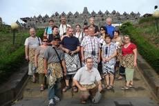 Lubomír Vacek v Indonésii se skupinou