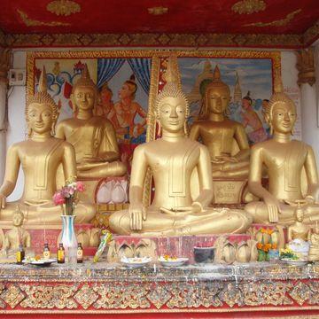 Sedící Buddhové