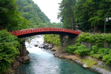 Šinkjó – tzv. Most bohů v Nikkó