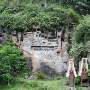 Skalní hroby, Tana Toraja