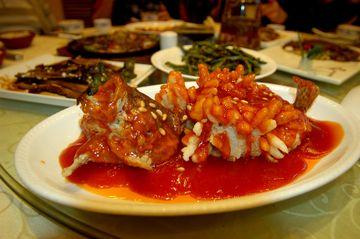 Sladkokyselá ryba
