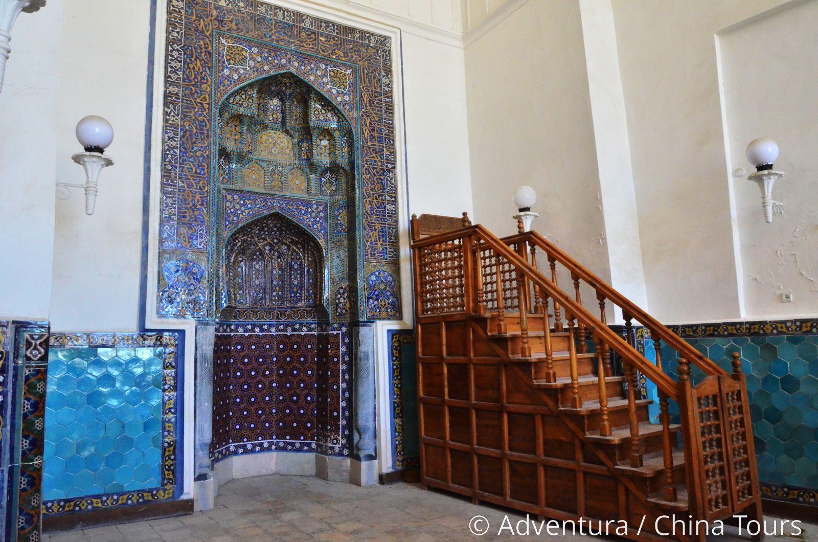 минбар в мечети картинка
