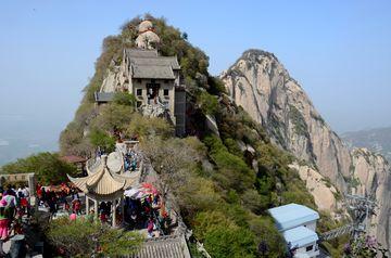 Severní vrchol na Huashanu
