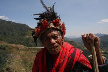 Stařík z kmene Ifugao