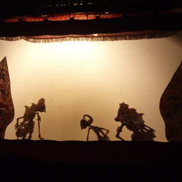 Tradiční stínové divadlo
