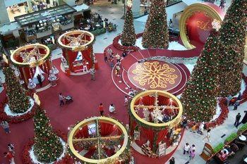 Vánoce v Kuala Lumpur