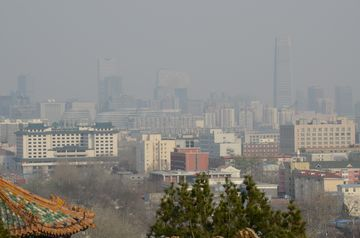 Smog nad Pekingem