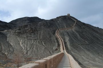 Západní konec Dlouhé zdi