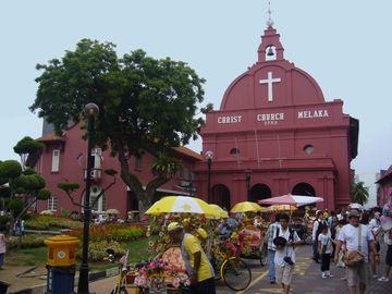 Melaka - kostel Christ Church