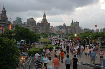 Šanghaj – nábřeží Bund