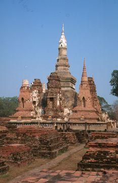 Ruiny bývalého královského města Sukhothai