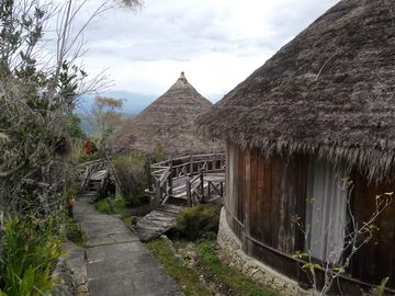 Domečky v Baliem Resortu