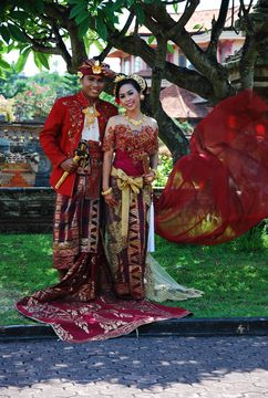 Na balijské svatbě