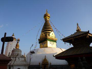Svajambhunáth v Káthmándú