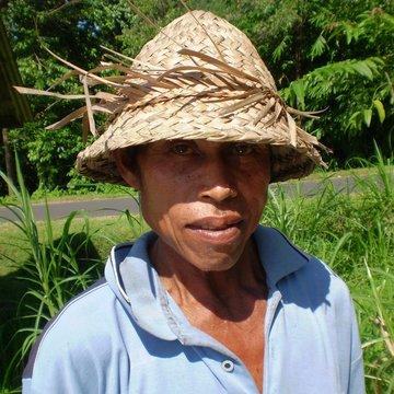 Indonésan se slamáčkem