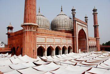 Páteční mešita v Dillí (Džámí masdžid)