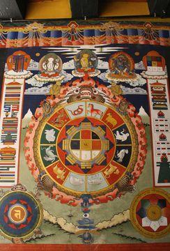 Freska mandaly