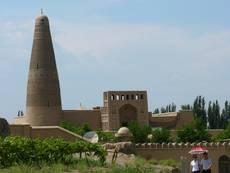 Eminův minaret v Turfanu