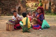 Barmská rodina