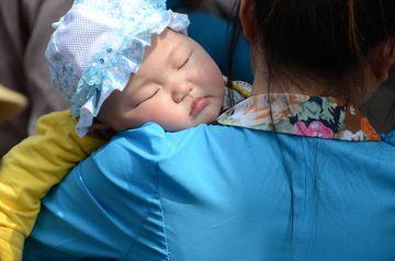 Spící dítko
